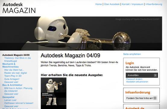Autodesk Magazin   Grafik und Redaktion   Tm-People